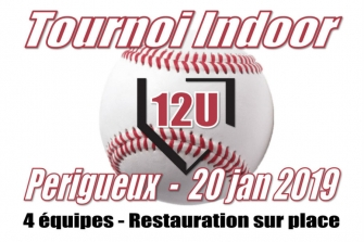 Tournoi Indoor 12u 2019