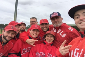 DEBUT 2 EME PHASE PLUVIEUSE POUR LES ANGELS BASEBALL