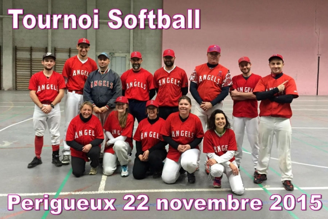 Tournoi softball 100% Dordogne